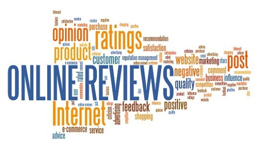 Online Reviews, Ratings, Feedback